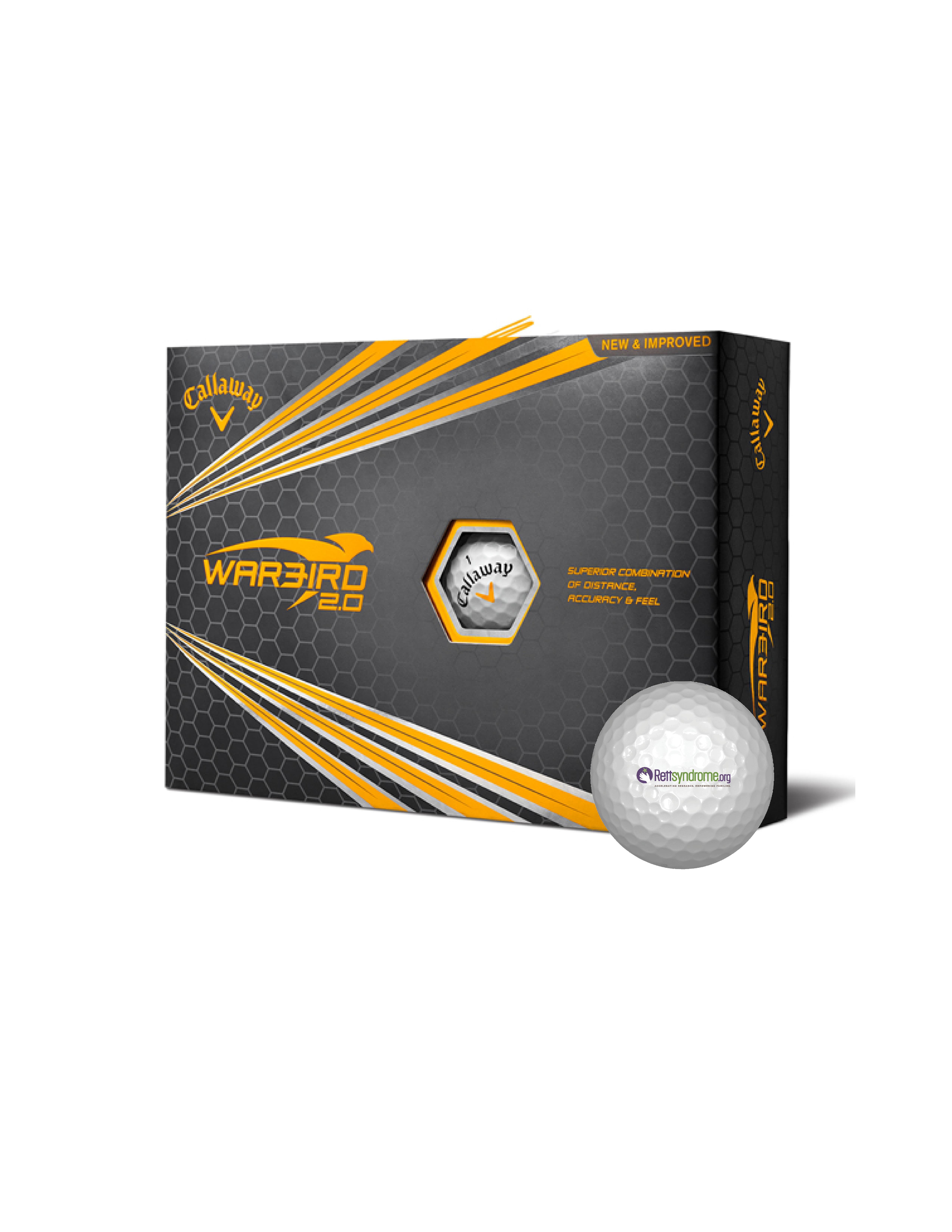 Callaway Warbird 2.0 Golf Balls|RettSyndrome.org
